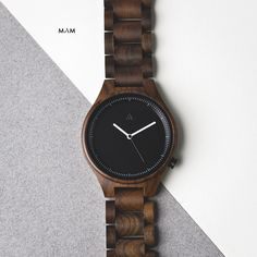 Owl Black | Wooden Watches by MAM Originals, Pic by Reni Wu