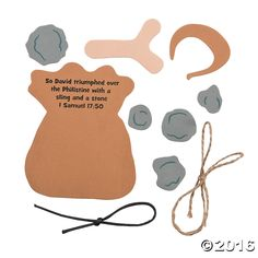 Teach them the story of David & Goliath during your 2015 VBS! The perfect addition to your VBS craft supplies, these fun crafts for kids come pre-printed with ...