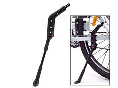Ständer : Hebie 672 Hinterbauständer schwarz voor stabiele fiets ook met bagage!