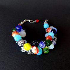 Bracelet Vintage African Wedding Bead by CalliopeAZCreations, $50.00