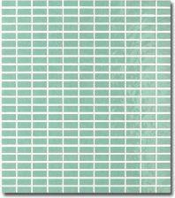Tonalite Soleil Mozaika Verde Vichy 27x30