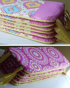 crib bumper tutorial --- interesting. picture from sweeterthancupcakes on flickr, tutorial linked.