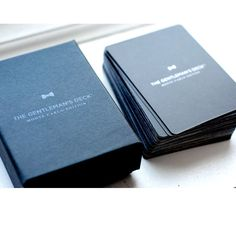 Gentleman's Deck Cards