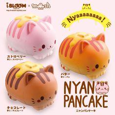 I want all 3 of the jumbo iBloom Nyan Pancake Cat squishies