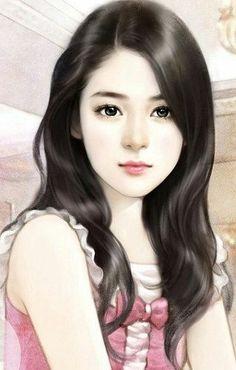 Art of beauty Girly Drawings, Beauty Art, Girly Art, Chinese Art Painting, Beautiful Fantasy Art, Female Art, Cute Art, Art Girl, Digital Art Girl