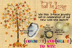 WIN a Jewelry set from NOLA Rejeweled! (ends Sept 22nd)
