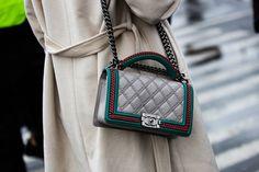 Sac Chanel à la Fashion Week de New York