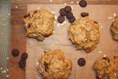 flour-less peanut butter, oatmeal & chocolate chip cookies