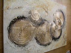 """Produktbeschreibung Künstler: Jean Sanders """"CREAM"""" 100x70x4cm Material: Acrylfarben, Schlussfirnis, Strukturmaterial Malgrund: Das Bild ist bereits fertig auf Keilrahmen gespannt. Die..."""