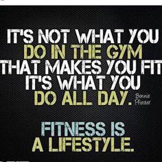 You go workout which is great but you can say your healthy or going to reach your goals just by going to the gym. When you leave the gym or finish your workout determines success or failure. Those 23 other hrs in the day are you making healthy proper lifestyle changes to get you to your goals. You want success then you are going to have to change you fitness into a lifestyle not just an occasional thing. #cresultsfitness #lifestyle #motivation #results #personaltrainer #bodybuilding #getfit…