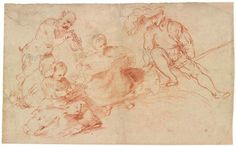 Pastoral Concert with Two Women, a Faun and a Soldier   Girolamo Romanino   The Morgan Library & Museum
