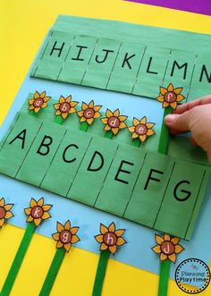 Preschool-Letter-Matching-Activity-for-Fall.You can find Preschool Letters and more on our website.Preschool-Letter-Matching-Activity-for-Fall. Fall Preschool, Preschool Letters, Preschool Learning Activities, Preschool Lessons, Spring Activities, Preschool Activities, Kids Learning, Teaching Resources, Seeds Preschool