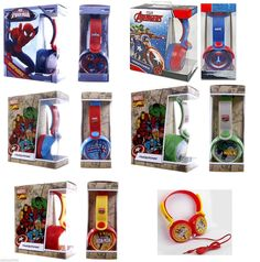 Marvel avengers heroes #childrens #padded stereo headphones #audio 3.5mm jack plu,  View more on the LINK: http://www.zeppy.io/product/gb/2/311605553402/