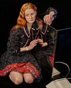 muse : anne louise de vries / next milanohair and make up : stella von sengerstyle : Julia Freitag