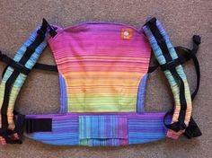 Pellicano Pastel Twill (Customized by ALLISON MARTINO) Tula Baby Carrier; January 2015