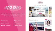 FastBlog - Elegant & Simple WordPress Blog Theme