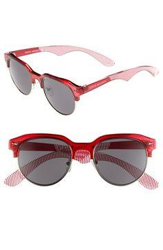 Obsessed. Retro red Steve Madden sunglasses