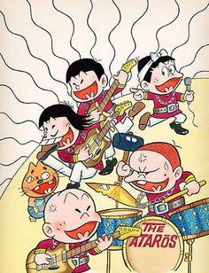 もーれつア太郎 Cute Characters, Disney Characters, Fictional Characters, Doodle Drawings, Vintage Japanese, Vintage Ads, All Art, Manga Anime, Kawaii