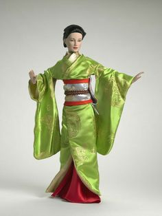 Memoirs of a Geisha, Tonner dolls | A1 shuffle board | Pinterest ...