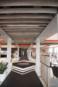 TRUCK ARENA GRÓJEC | Projektowanie wnętrz mieszkalnych, komercyjnych – Bizzonarch