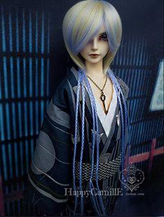 BJD / SD doll clothes / Japanese men's kimono doll clothing ...