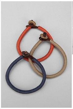 Simple preppy bracelets #mensfashion