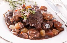 """Julia Child described her favorite boeuf bourguignon as """"certainly one of the most delicious beef di... - Shutterstock"""