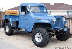 The Willys pickup truck, along with the Willys Jeepster and Willys Jeep Wagon, was the predecessor to today's modern Jeep line. Description from picturethisgraphics.com. I searched for this on bing.com/images