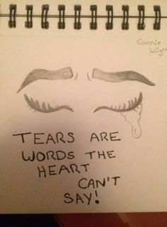 Yes sometimes you just can't speak out the words you so desire to yell out 😢 Sad Drawings, Pencil Art Drawings, Art Drawings Sketches, Cute Drawings Of Love, Cute Quotes, Sad Quotes, Inspirational Quotes, Heart Quotes, The Words