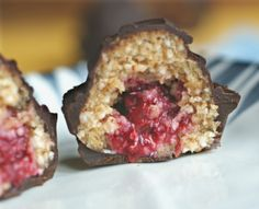 Coconut Raspberry Truffle Cups are vegan, gluten-free, sugar-free. Whole foods ingredients that taste incredibly decadent all together.