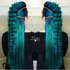 Peacock Hair Color Ideas 15