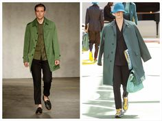 God Save the Queen and all: London Menswear Collections SS15: El trench sigue ... #londonfashionweek #menswear #SS15