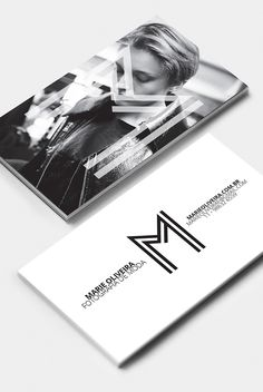 Marie Oliveira Fashion Photography Business Cards #branding #businesscards #visualidentity #stationary