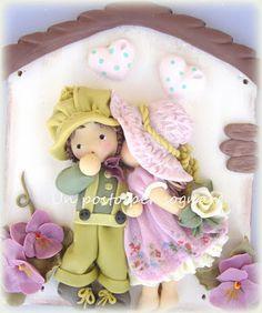 Un posto per Sognare...Bambole, Fate e Folletti INNAMORATI,PASTA MAIS