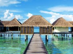 find ultimate luxury at these awe-inspiring places to stay in the Maldives.