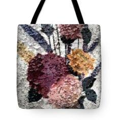 Sandra Harrison Tote Bags - Flowers In Winter Tote Bag by Sandra Harrison
