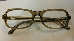 oliv grüne Brille 60er Jahre