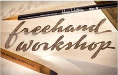 Freehand Lettering Workshop | House Industries