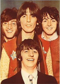 Beatles ...John,George,Paul Ringo.
