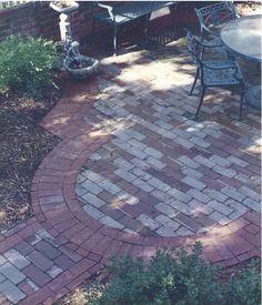 Port Vecchio Rendered Plan - Landscape Designs, Inc. Brick patio