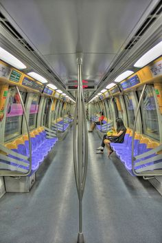 Singapore Metro.  It is as clean as they say. If only in NY. #sgmemory #archivingsg