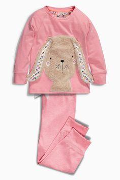 Buy Pink Bunny Appliqué Snuggle Fit Pyjamas from the Next UK online shop
