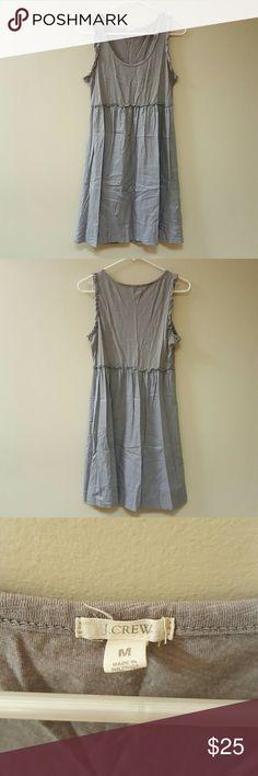 *BLACK FRIDAY SALE*  J. Crew tank dress 100% cotton light and airy EUC, just wrinkly. J. Crew Dresses Mini