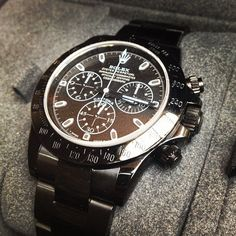 Rolex Daytona Cosmograph 40mm Special Edition with military grade PVD and Black dial