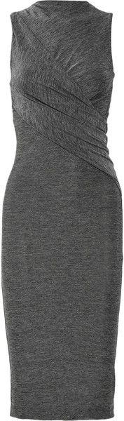 ageless  -  Twist Front Jersey Dress T by Alexander Wang
