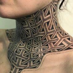 Neck Tattoos - Check the recent tattoo ideas Tattoo P, Throat Tattoo, Tattoo Hals, Forearm Tattoo Men, Full Neck Tattoos, Dragon Sleeve Tattoos, Full Body Tattoo, Hot Tattoos, Body Art Tattoos
