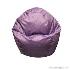 Classic Small Bean Bag PVC Vinyl - Lilac | ON SALE: $54.99 | Free Shipping - No Sales Tax.