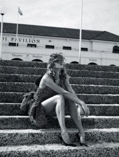 Karlie Kloss Models Glamazon Style for Vogue Australia Cover Story
