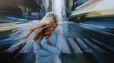 "Saatchi Art Artist Alexey Chernigin; Painting, ""CROSSROADS"" #art"