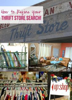 How to Refine Your Thrift Store Search with Happily Ever After, Etc & the Bargain Baglady